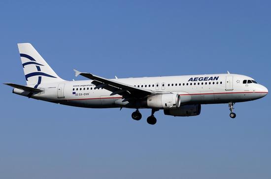 Aegean Airlines самолет